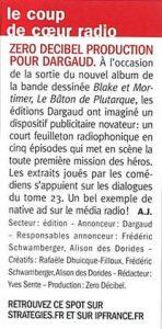 Coup de coeur radio article